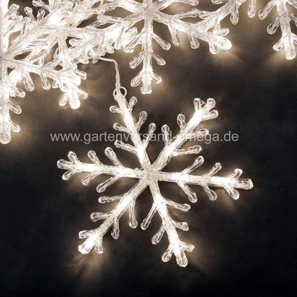 LED-Schneeflocken-Lichterkette