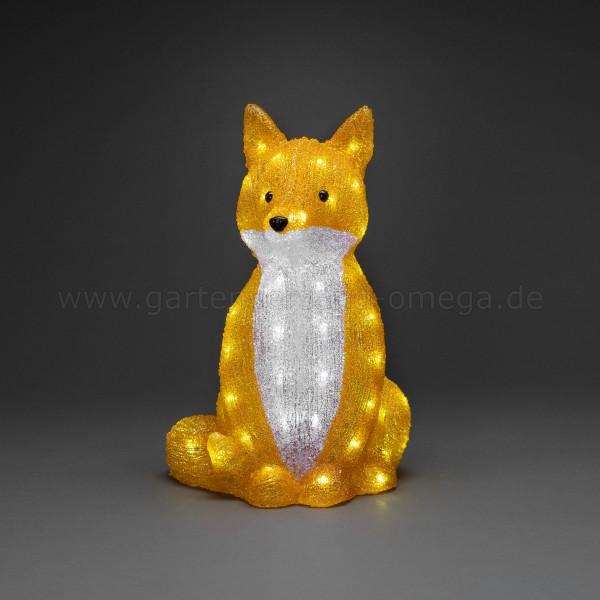 LED-Acryl Fuchs sitzend