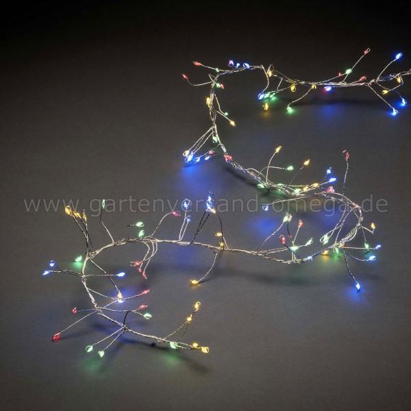 Micro-LED Clusterlichterkette für Innen Bunt