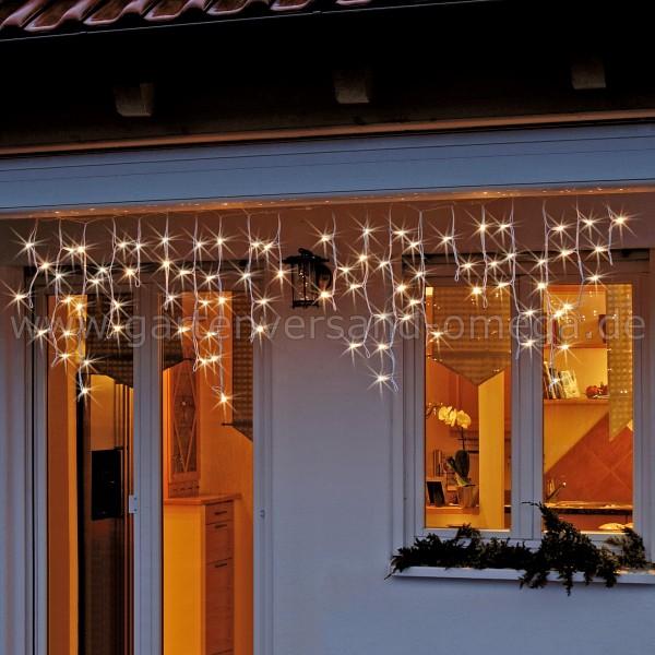 LED-System Profi Eislichtvorhang Blinkeffekt - Lichtvorhang mit Eisregen-Blinkeffekt