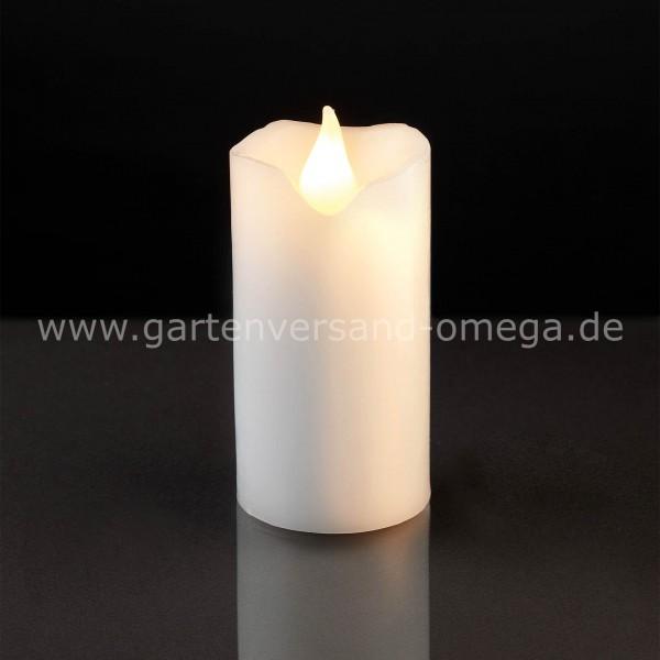 LED-Wachskerze Weiß