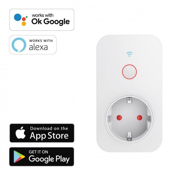 Hama WLAN-Steckdose App Zeitschaltuhr mit Verbrauchsmessung