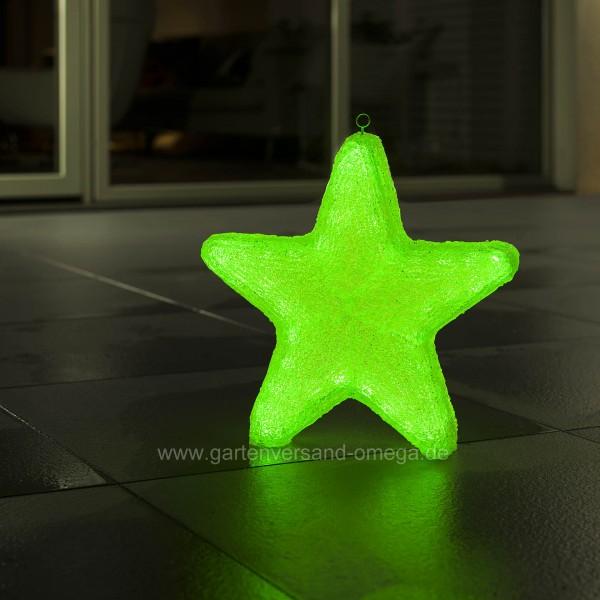 LED Acryl Stern mit Farbfunktionen 40cm