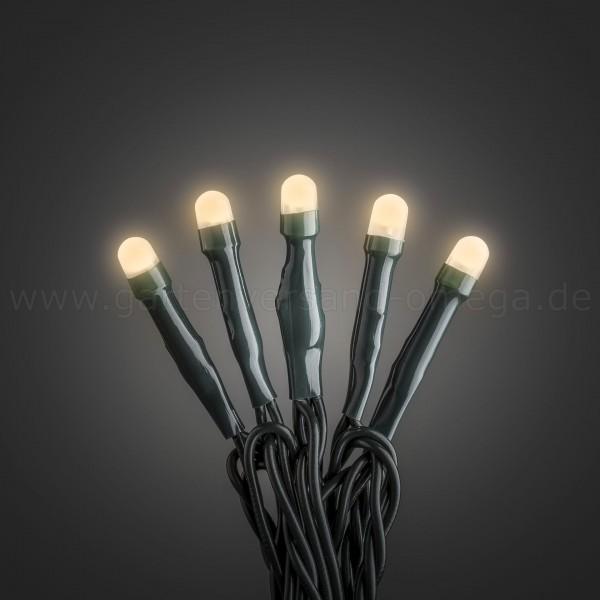 Micro-LED Lichterkette gefrostet Bernsteinfarben - Innenlichterkette
