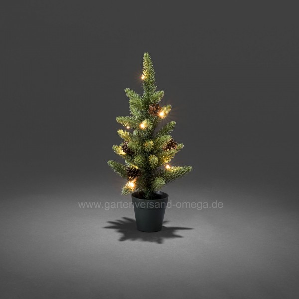 Weihnachtsbaum Künstlich Aussen.Batteriebetriebener Led Weihnachtsbaum 45cm Für Außen
