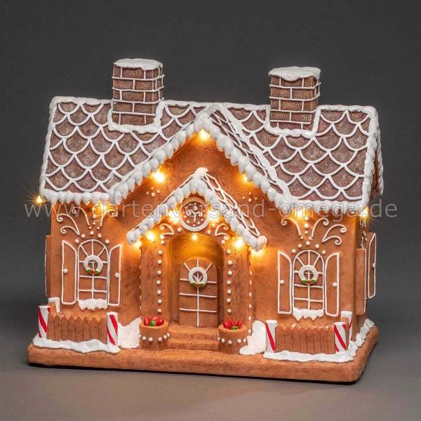 LED-Weihnachtsdeko Lebkuchenhaus