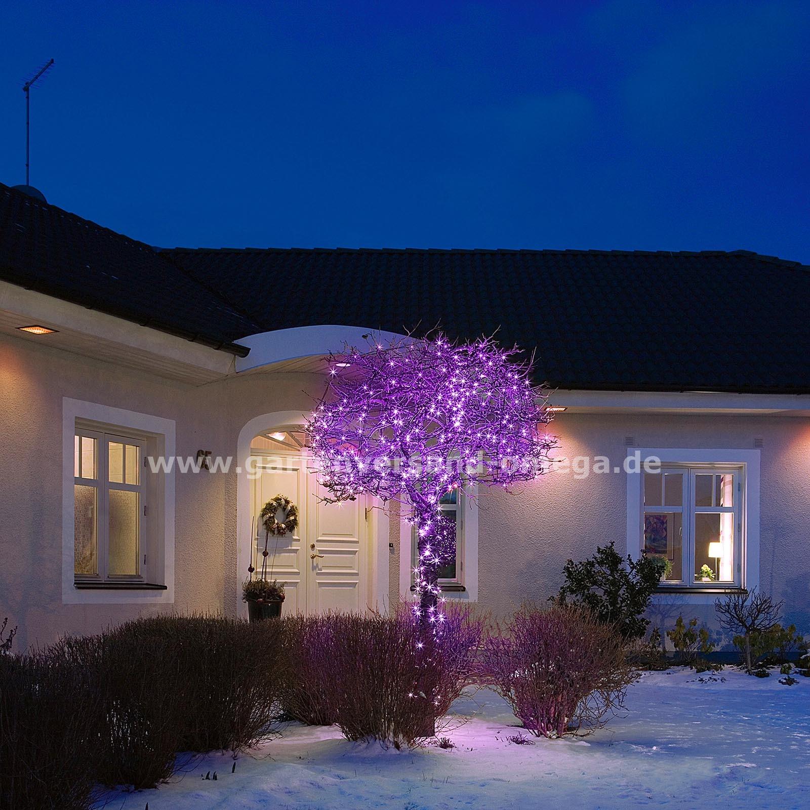 mikro led lichterkette in verschiedenen farben bunte led. Black Bedroom Furniture Sets. Home Design Ideas
