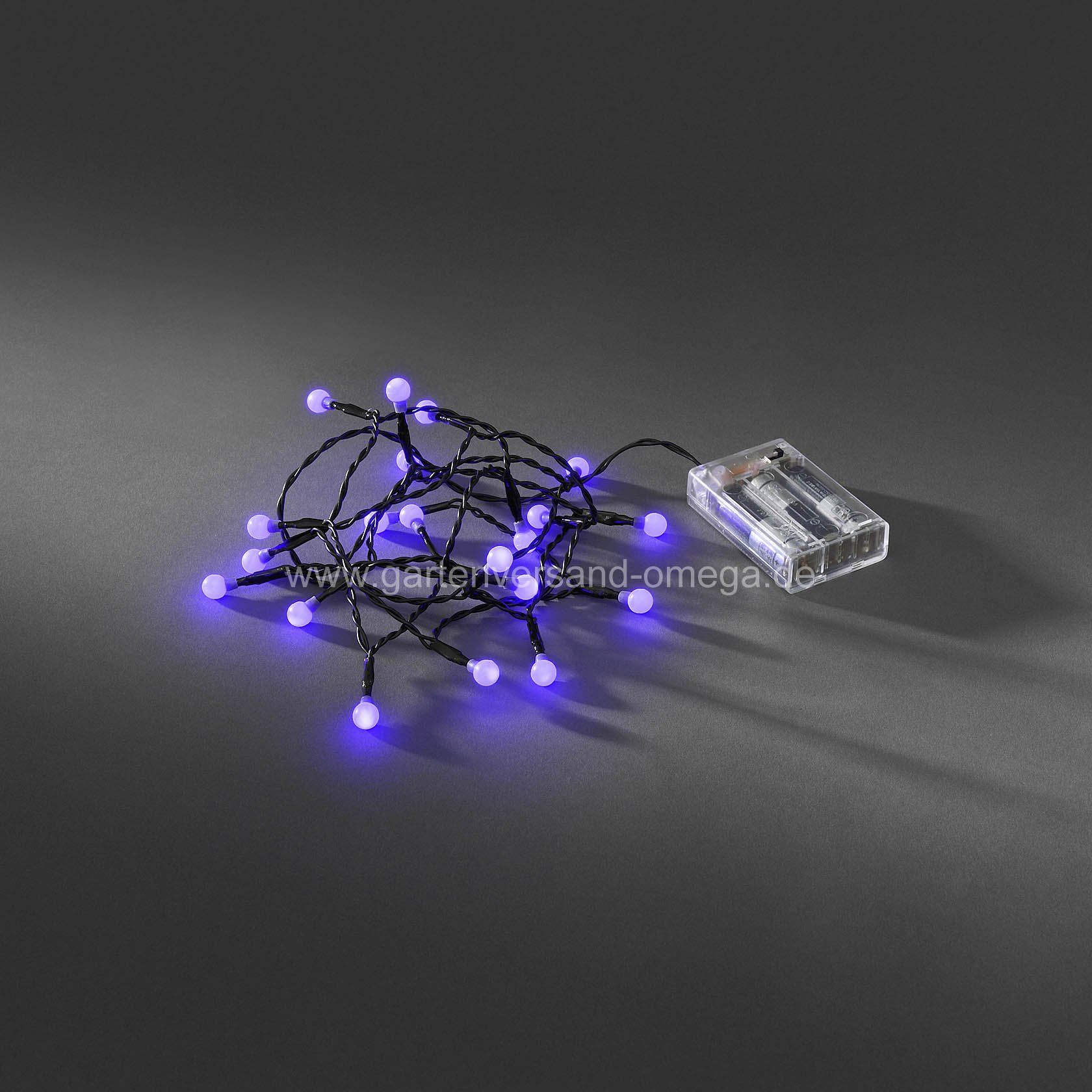 2613667-batteriebetriebene-led-kugellichterkette-purpurfarben-hd-large Elegantes Led Leisten Mit Batterie Dekorationen