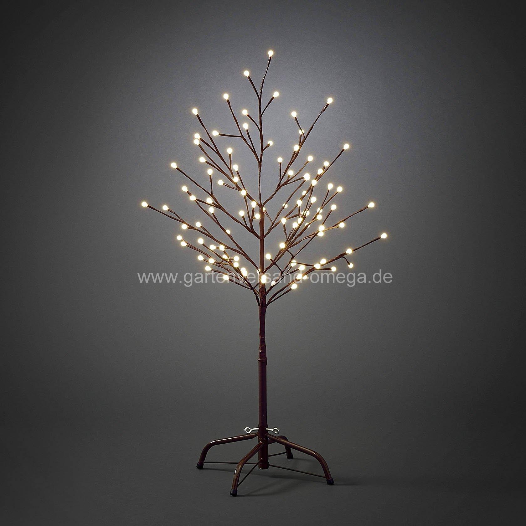 Led lichterbaum braun lichterzweig led baum - Weihnachtsbeleuchtung garten ...