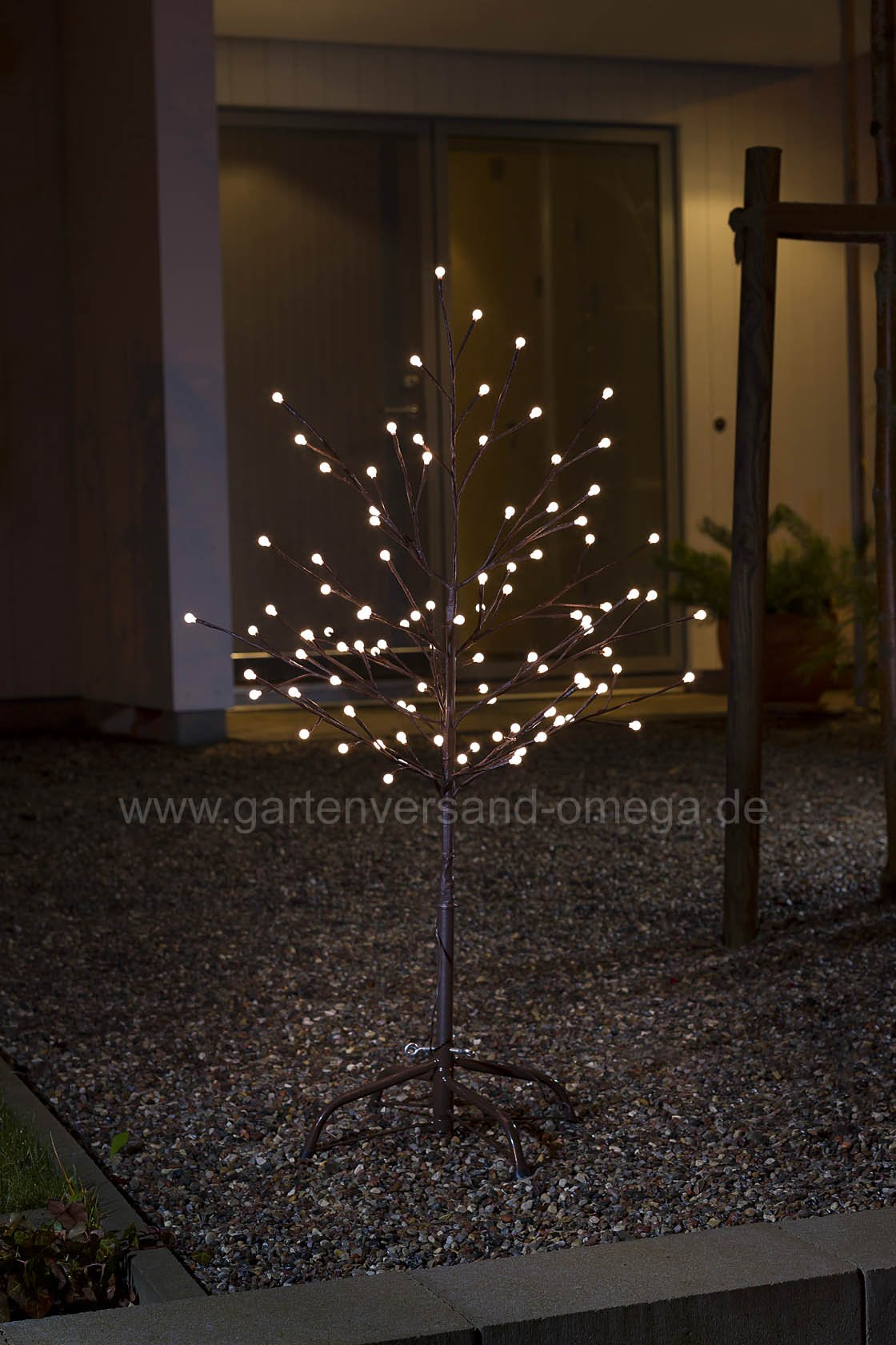led lichterbaum braun lichterzweig led baum gartendekoration beleuchtet winterbeleuchtung. Black Bedroom Furniture Sets. Home Design Ideas