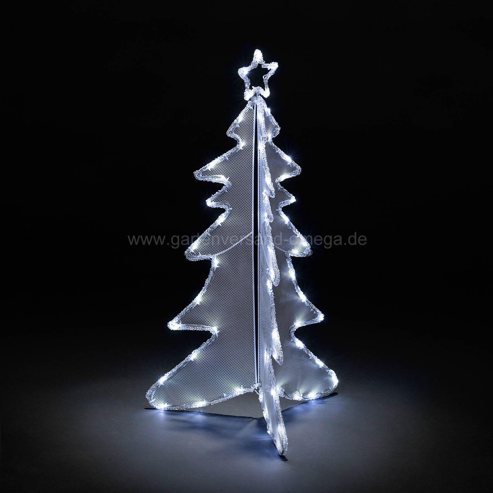 3d led acryl tannenbaum 90cm leuchtbaum beleuchteter - Beleuchteter tannenbaum kunststoff ...