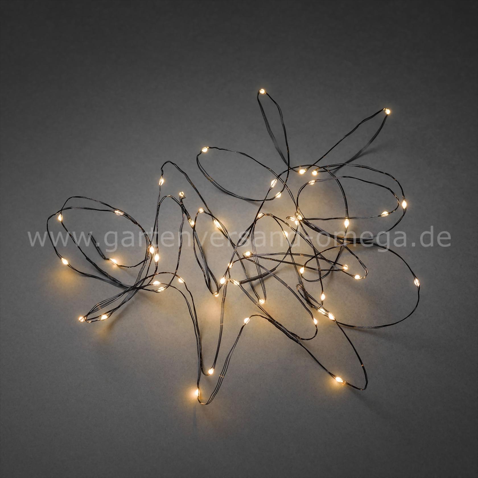 Led tropfenlichterkette bernsteinfarben mit schwarzem draht drahtkabellichterkette zur - Weihnachtsbeleuchtung batterie ...