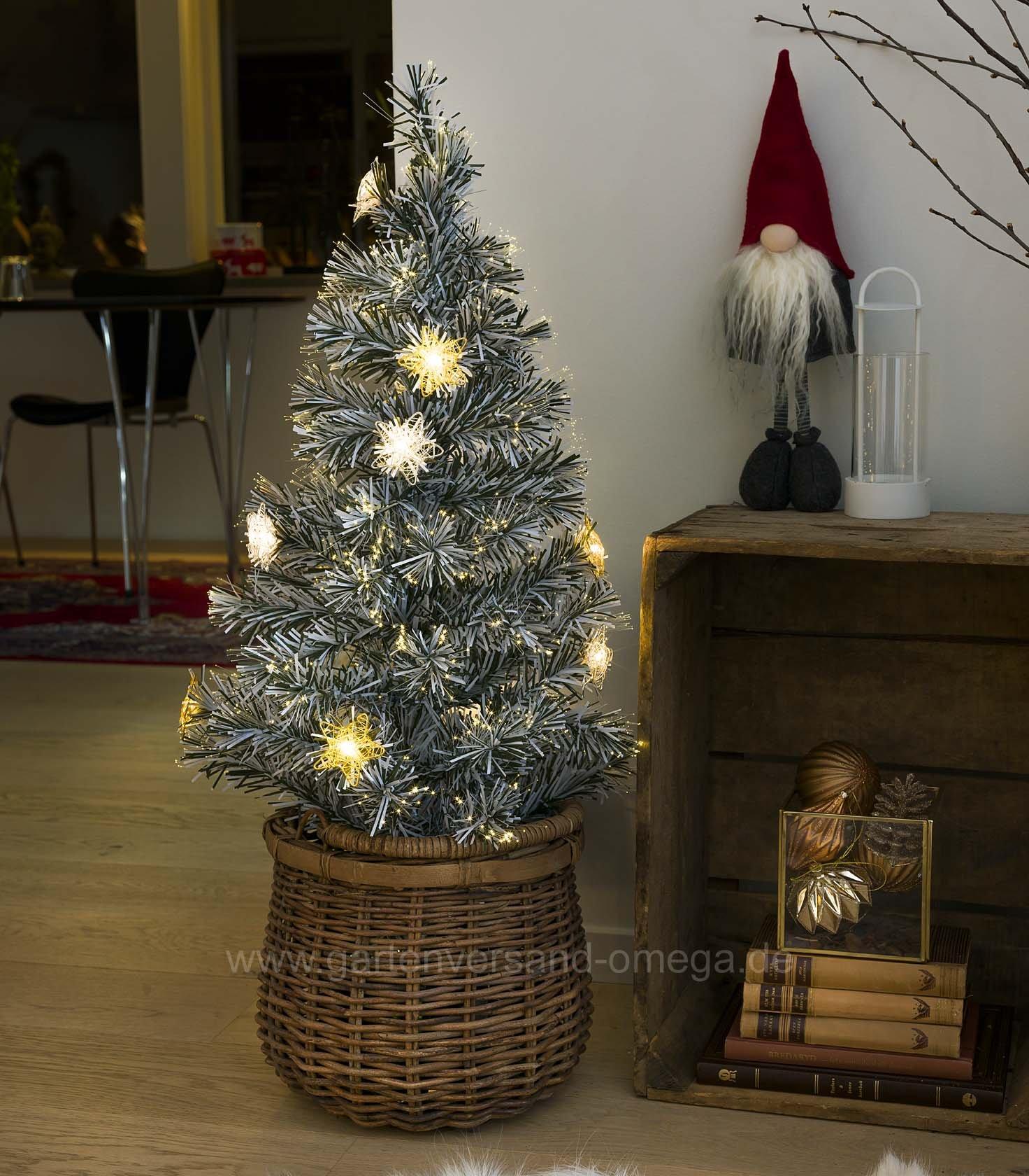 k nstlicher weihnachtsbaum wei mit beleuchtung my blog. Black Bedroom Furniture Sets. Home Design Ideas