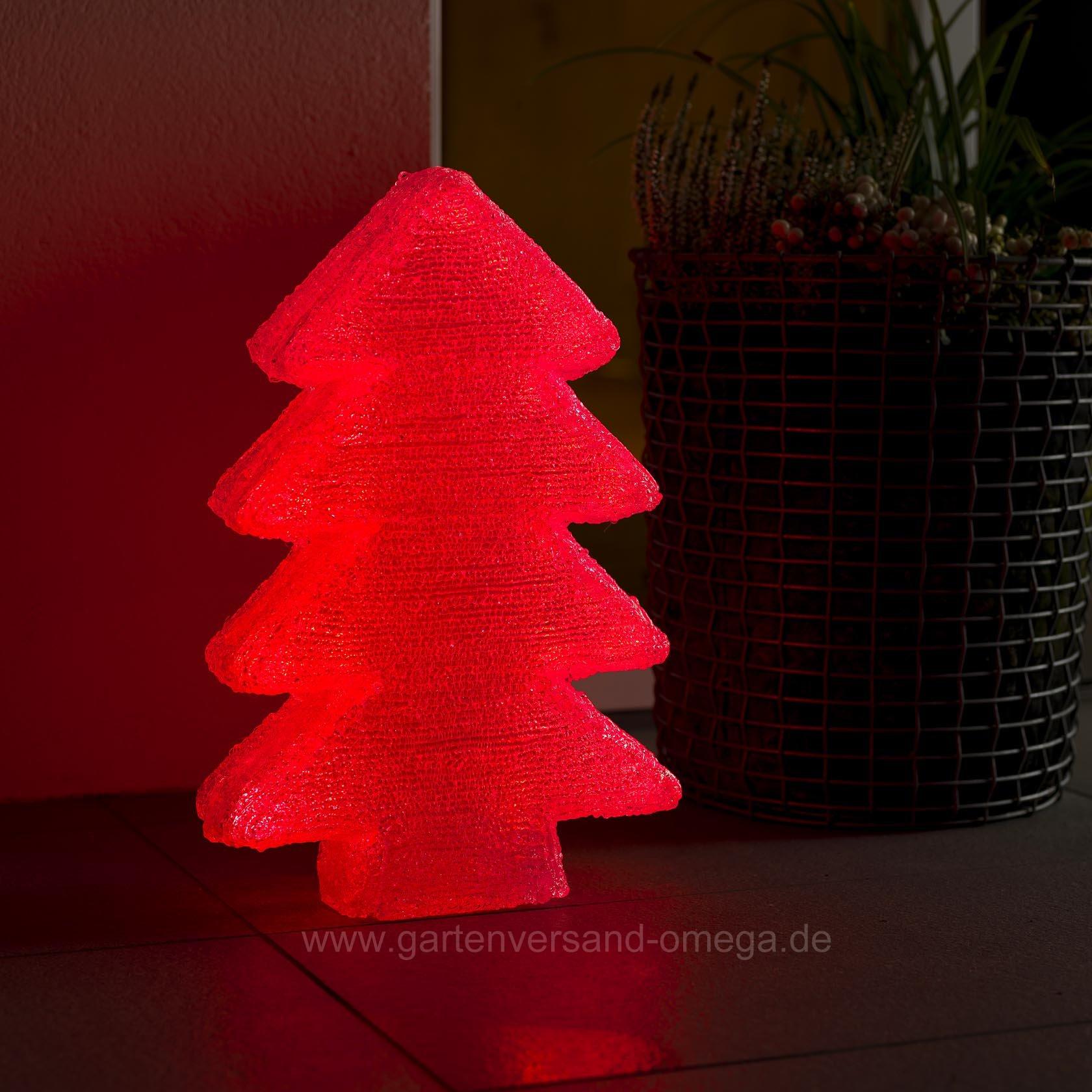Tannenbaum Acryl.Led Acryl Tannenbaum Mit Farbwechselfunktionen 40cm Rgb