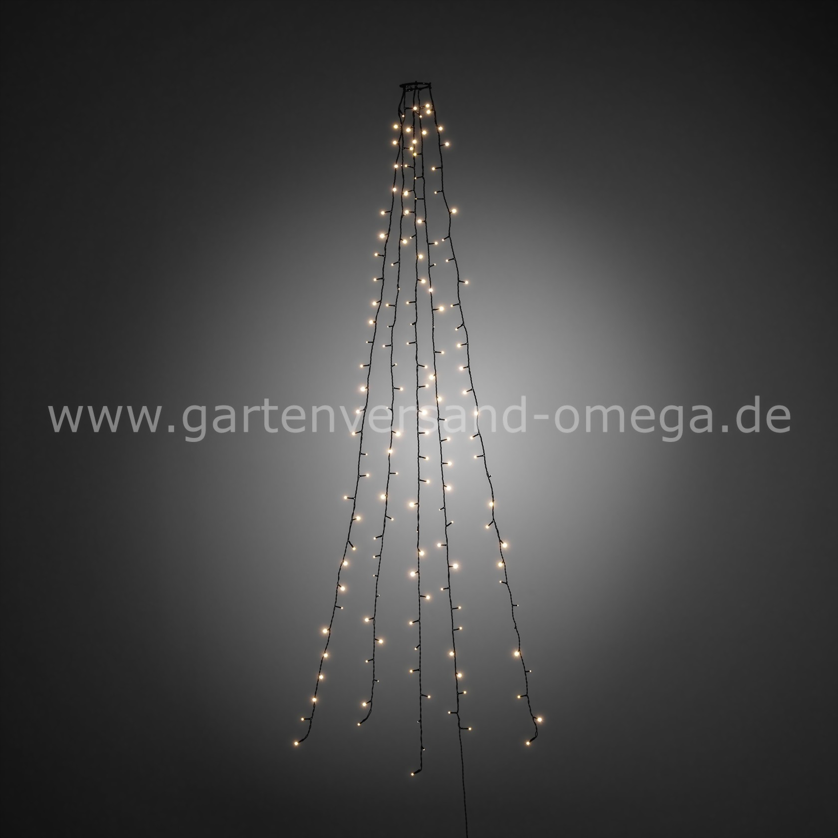 led baummantel lichterkette warm wei tannenbaumbeleuchtung baummantellichterkette schnell. Black Bedroom Furniture Sets. Home Design Ideas