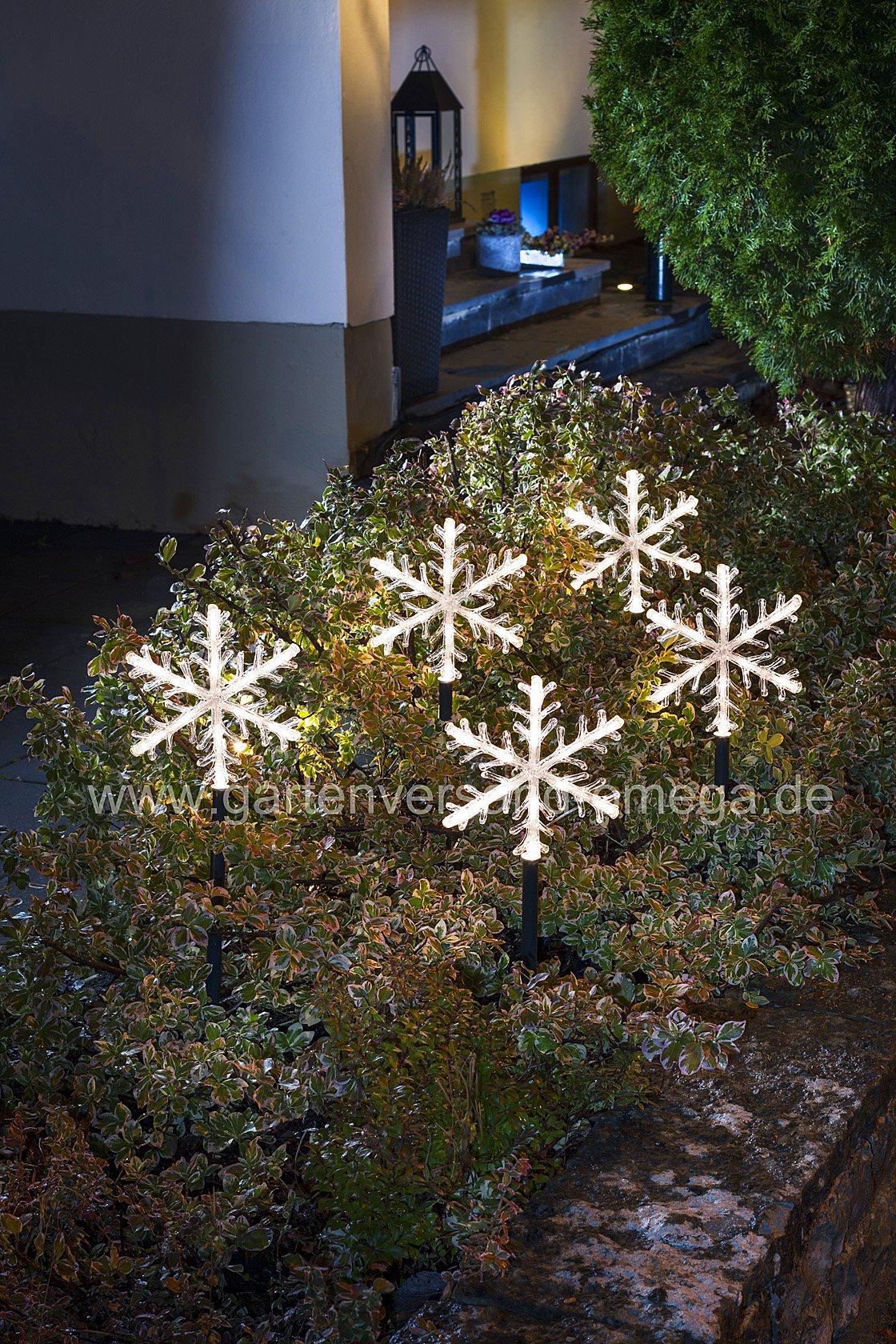 led leuchtst be set mit schneeflocken lichtst be sternenst be led leuchtstab beleuchtung. Black Bedroom Furniture Sets. Home Design Ideas